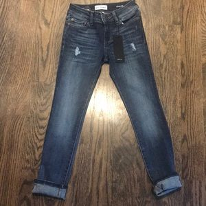 Choose Size NWT DL1961 Girl/'s Distressed Skinny Jeans $69